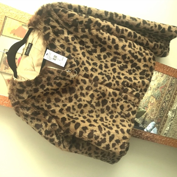 Fashion Nova Jackets & Blazers - Leopard coat